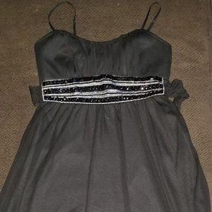 Jrs Medium Formal Party Dress Black